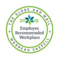 Employee recommended workplace logo