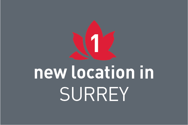 New location in Surrey