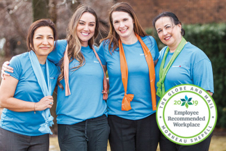 Lifemark Health Group recognized with the 2019 Employee Recommended Workplace Award.