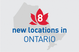 Locations in Ontario